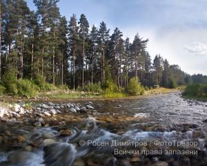 Река Искър край с. Говедарци