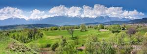 Панорама на Пирин
