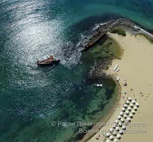 Плажът на Равда
