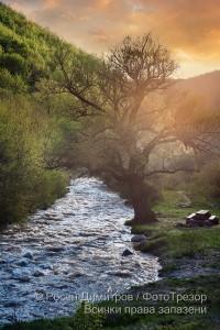Река Струма край Боснек