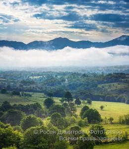 Мъглива утрин край Вършец