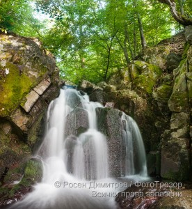 Водопад край с. Заножене