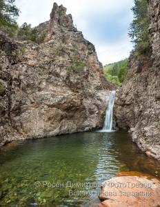 Загражденски водопад в Родопите