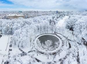 Борисовата градина през зимата