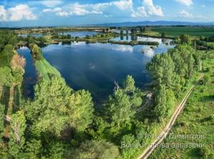 Водни площи Дупките край с. Долни Богров